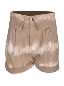 Stella McCartney - Tie-dye shorts in beige