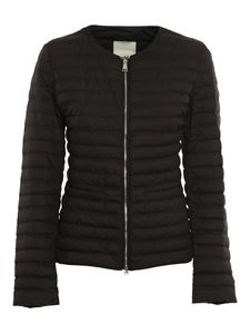 ADD - Black lightweight padded jacket with zip