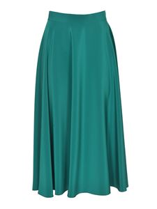 Gianluca Capannolo - Louise skirt in teal color