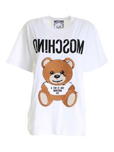 Moschino - Inside Out Teddy Bear t-shirt in white