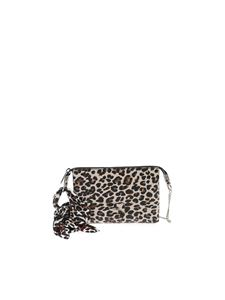 Gum Gianni Chiarini - Foulard clutch bag in animal print