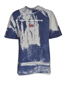 Alexander Wang - Cathedral Rock t-shirt in blue