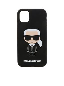Karl Lagerfeld - Cover iPhone 11 K Ikonic nera