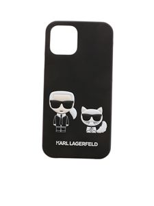 Karl Lagerfeld - Cover iPhone 12/12Pro Karl e Choupette