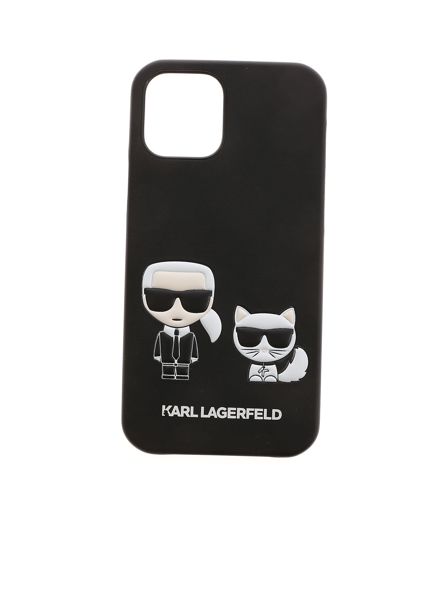 Karl Lagerfeld KARL AND CHOUPETTE IPHONE 12/12PRO COVER