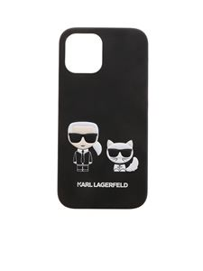 Karl Lagerfeld - Karl and Choupette IPhone 12Pro Max cover