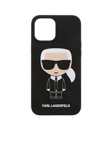 Karl Lagerfeld - K Ikonic IPhone 12Pro Max cover in black