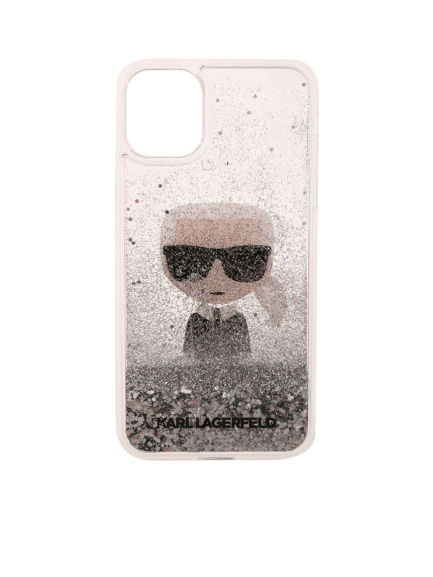 Karl Lagerfeld K/IKONIC IPHONE 11 TRANSPARENT COVER