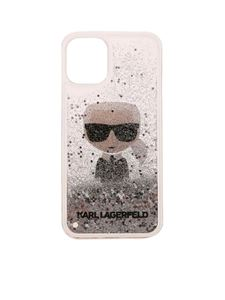 Karl Lagerfeld - Cover Iphone 12 Mini K/Ikonic trasparente