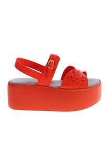 Melissa + Vivienne Westwood Anglomania - Wedge sandals in red