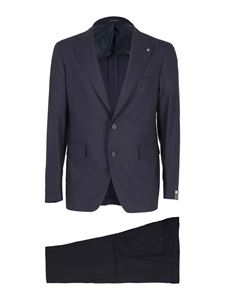 Tagliatore - Wool suit in blue