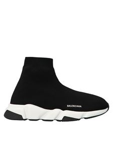 Balenciaga Kids - Speed sneakers in black