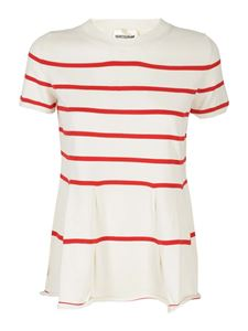 Semicouture - Alice T-shirt in white