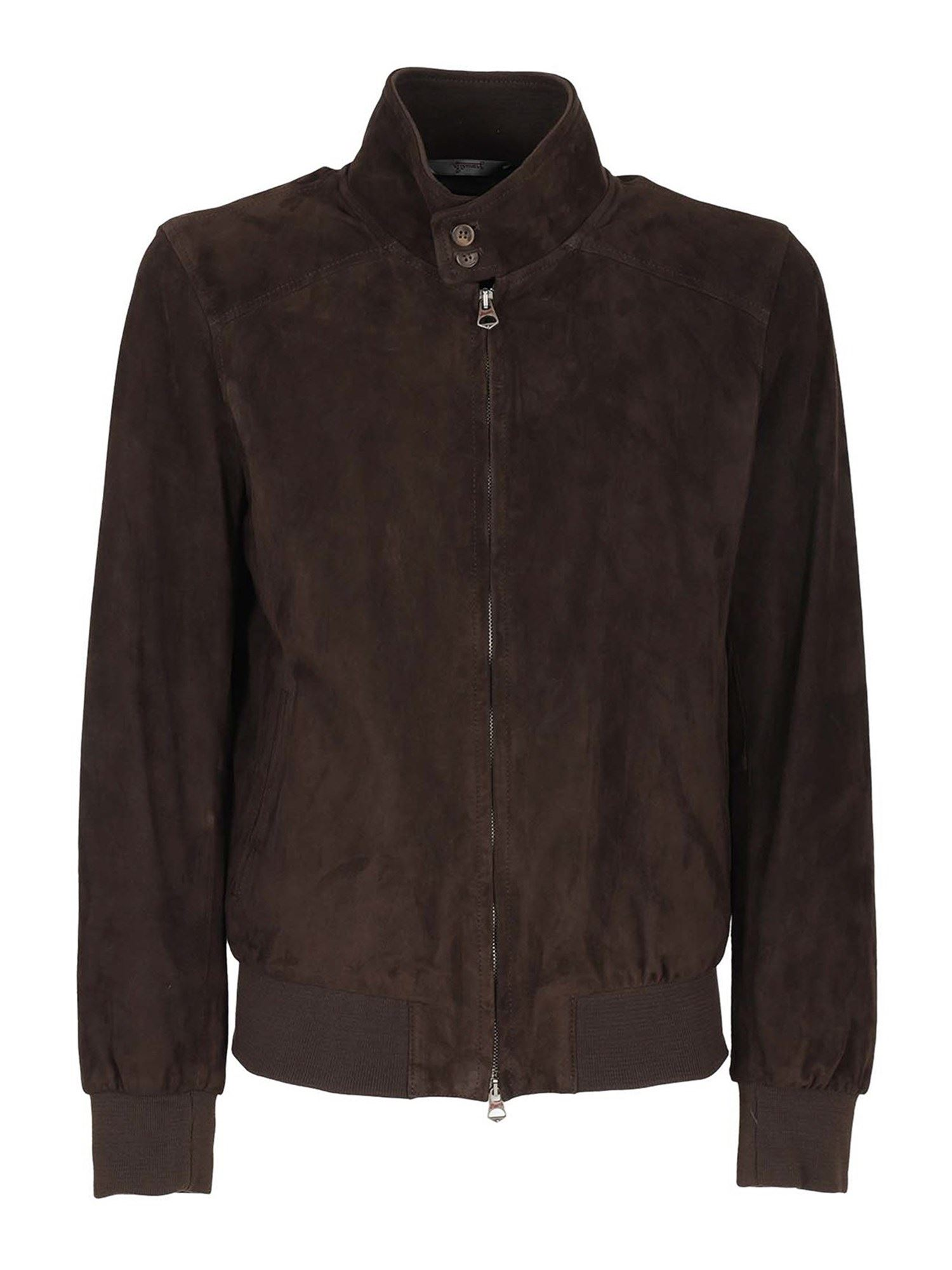 Stewart ARCHIE JACKET IN BROWN