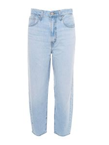 Levi's - High Loose Taper Jeans in light blue