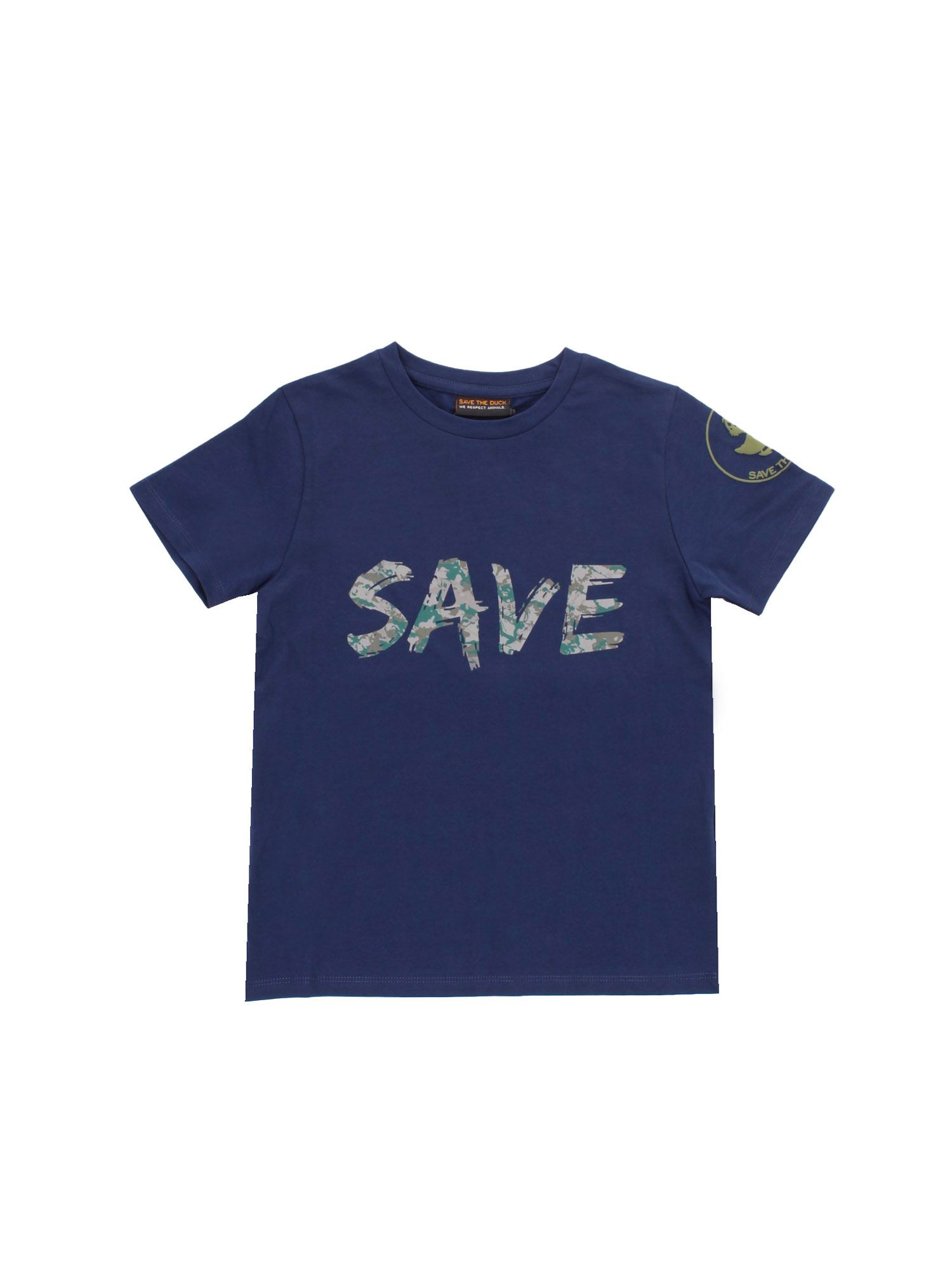 Save The Duck SAVE T-SHIRT IN BLUE