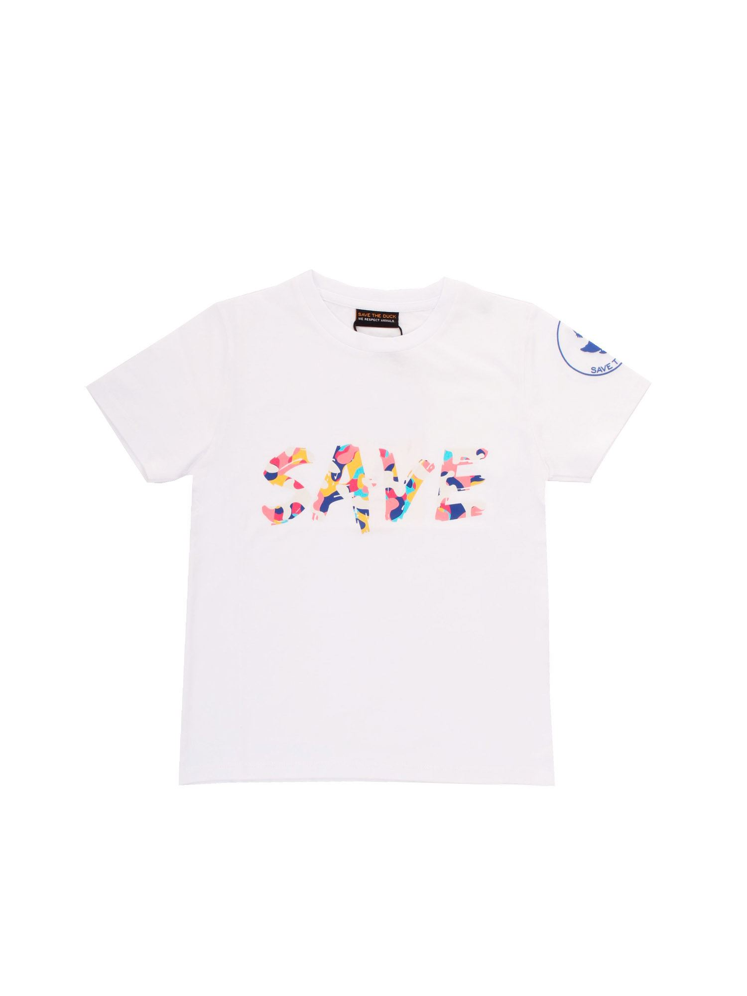 Save The Duck SAVE T-SHIRT IN WHITE