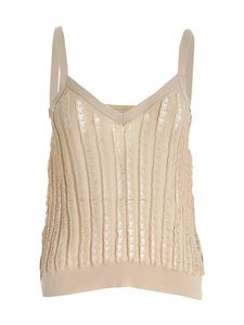 Ballantyne - Crop top in beige
