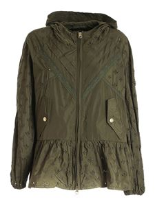 Ermanno Scervino - Embroidery jacket in green
