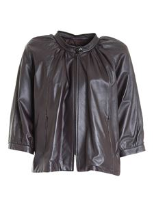 Diego M - Leather jacket in brown