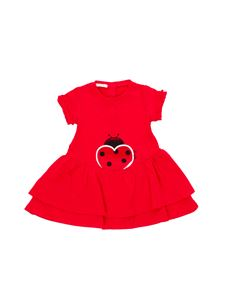 LIU JO Junior - Ladybug printed dress in red