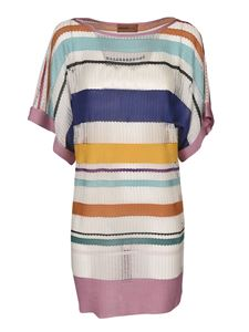 Missoni - Multicolor knitted cover-up