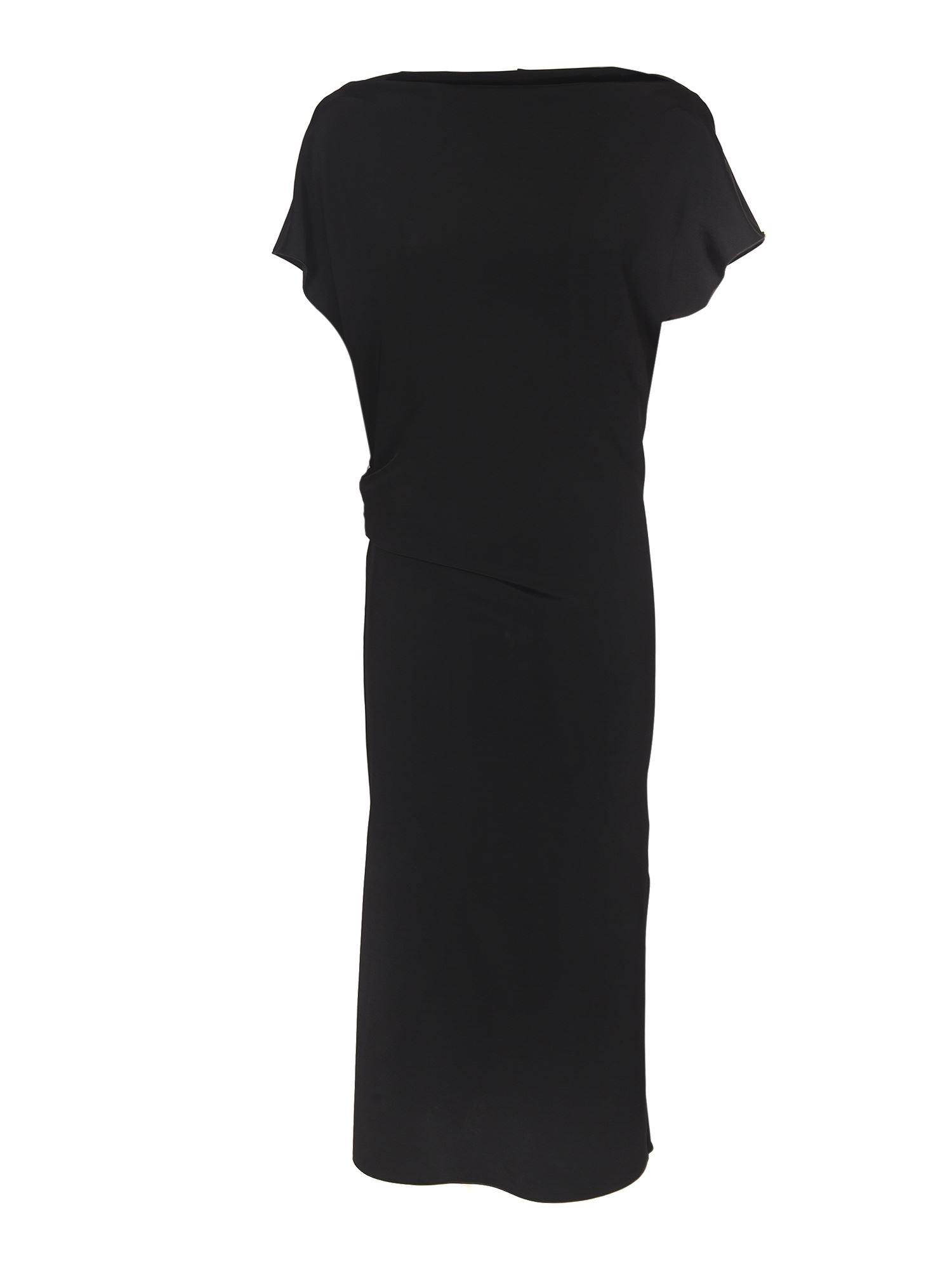 Sportmax CECILIA LONG DRESS IN BLACK
