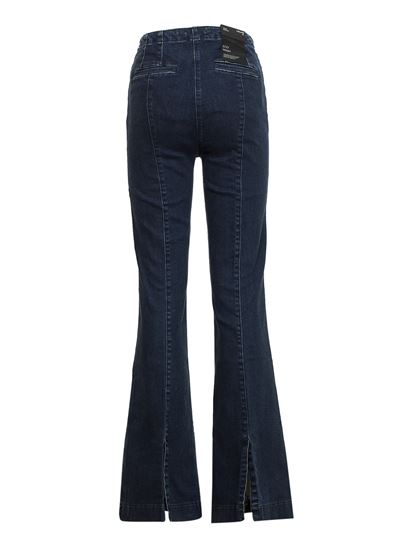 J Brand - Eco wash flared jeans in blue