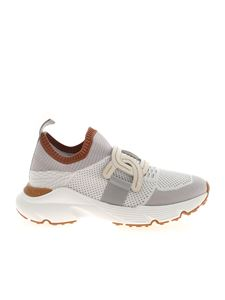 Tod's - Sneakers bianche e grigie