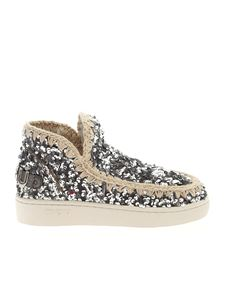 Mou - Summer Eskimo sneakers in silver color