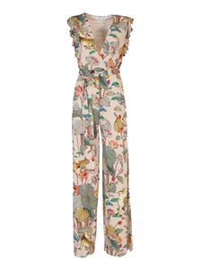 Etro - Tigers and Water Lilies print jumpsuit