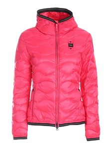 Blauer - Hooded padded jacket in pink