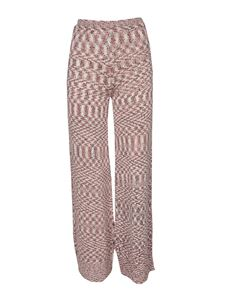 Missoni - Printed pants in the shades of red