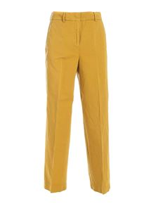 SLOWEAR Incotex - Arlys pants in mustard color