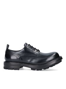 Alexander McQueen - Leather lace-ups in black