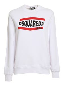 Dsquared2 - Logo print sweatshirt in white