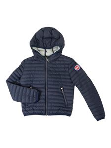 Colmar Originals - Quilted hooded puffer jacket in blue
