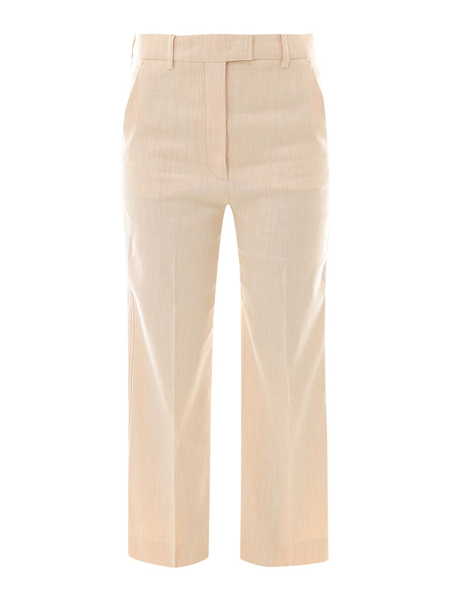 Sportmax COTTON BLEND TROUSERS
