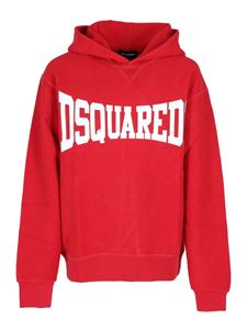 Dsquared2 - Logo hoodie in red