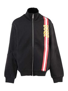 Dsquared2 - Zipped sweatshirt in black