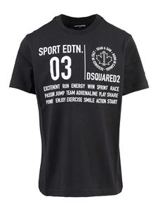 Dsquared2 - Jersey T-shirt in black