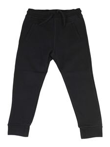Dsquared2 - Cotton sweat pants in black