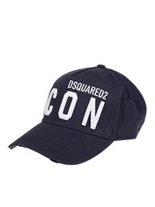 Dsquared2 - Icon embroidery baseball cap in blue