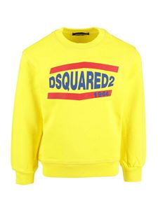 Dsquared2 - Logo sweatshirt in yellow