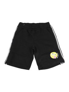 Neil Barrett Kids - Emoji Bermuda short in black