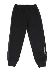 Neil Barrett Kids - Logo joggers in black