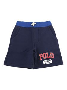 POLO Ralph Lauren - Jersey shorts in blue