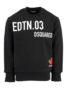 Dsquared2 - Logo sweatshirt in black