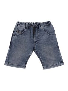 Diesel - Krooley  denim shorts in blue