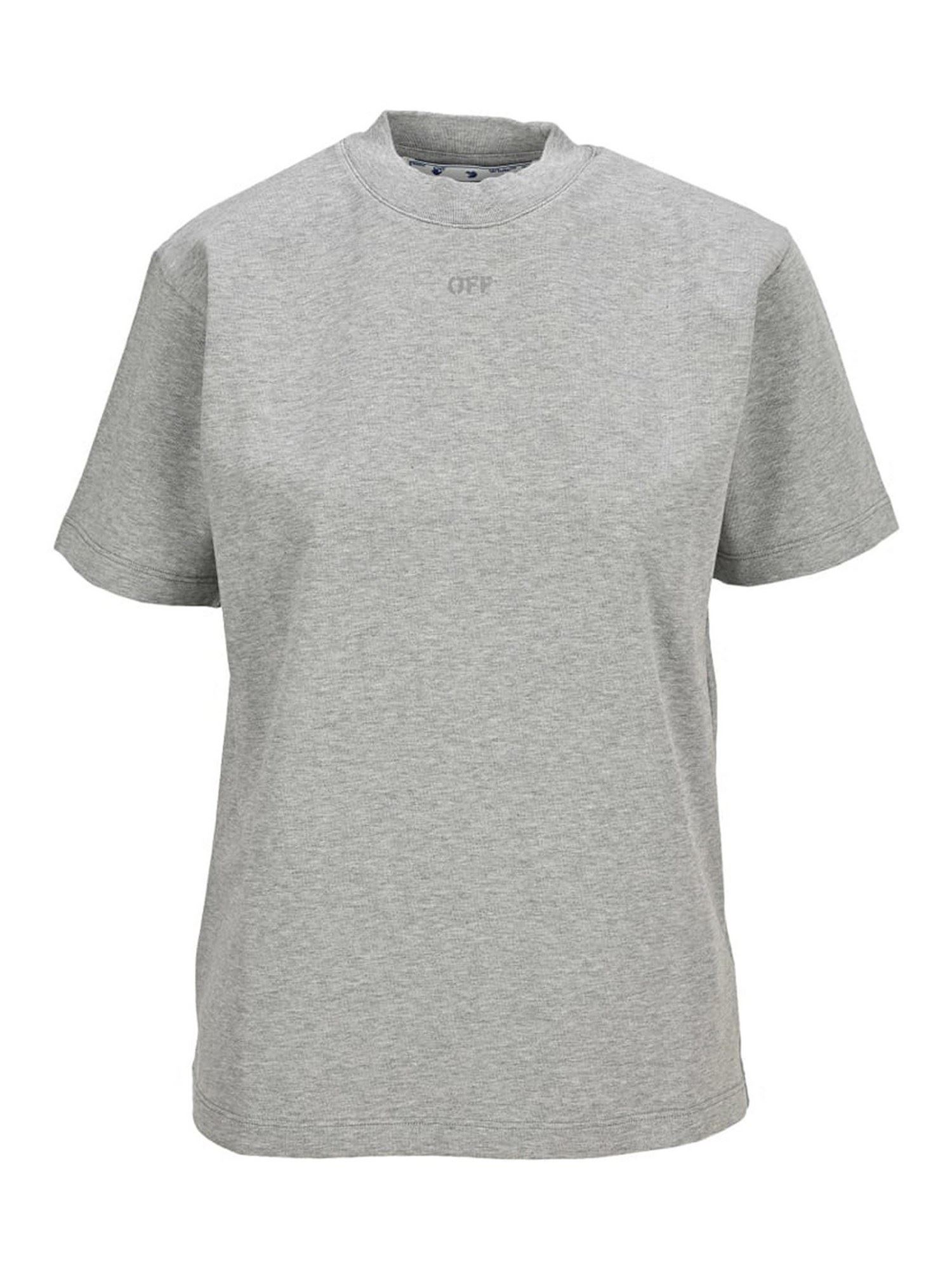 Off-White ARROW T-SHIRT IN GREY